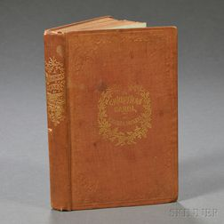 Dickens, Charles (1812-1870) A Christmas Carol, in Prose, Being a Ghost Story of Christmas