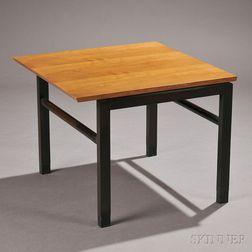 Edward Wormley for Dunbar Walnut and Mahogany Occasional Table