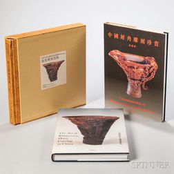 Three Books on Rhinoceros Horn Carving