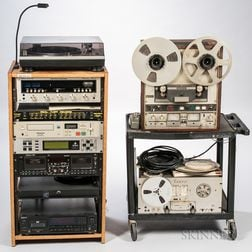 Reel-to-Reel Tape Recorders and Rack-mounted Audio Equipment