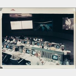 Apollo 9, Mission Control, February and March 1969, Four Photographs.