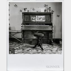 Walker Evans (American, 1903-1975)       The Home Organ, Chester, Nova Scotia
