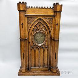 E. Ingraham Gothic-style Mantel Clock