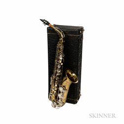 Alto Saxophone, Couesnon Monopole Conservatoires, c. 1968