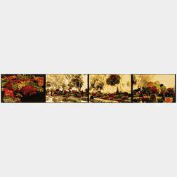 Judy Pfaff (British/American, b. 1946)      Green's Garden