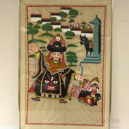 Religious Folk Painting