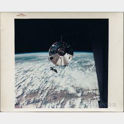 "Apollo 9, Command Service Module ""Gumdrop,"" Two Photographs."