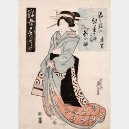 Eight Woodblock Prints