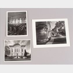 Three Photographs Depicting Various Views of County Courthouses