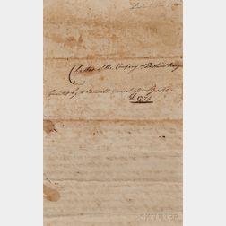 Pawtuxet Rangers, Period Copy, Founding Charter (1774)