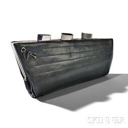 "Art Deco ""Normandie"" Leather Bag"