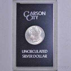 1884-CC/Carson City Morgan Dollar.