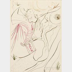 Salvador Dalí (Spanish, 1904-1989)      Decameron  /Portfolio of Ten Prints