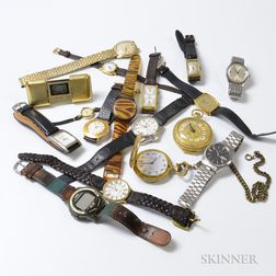 Group of Assorted Wristwatches