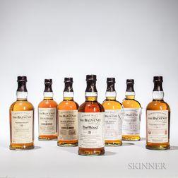 Mixed Balvenie, 8 750ml bottles