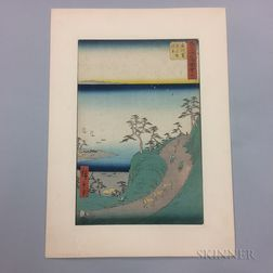 Utagawa Hiroshige (1797-1858), Shirasuka
