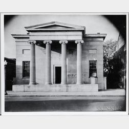Walker Evans (American, 1903-1975)       Greek Temple Building, Natchez, Mississippi