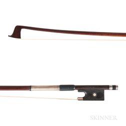 English Silver-mounted Violin Bow