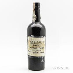 Taylor 1963, 1 bottle