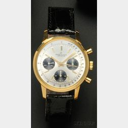 Stainless Steel Chronograph Wristwatch, Breitling