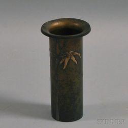 Heintz Art Metal Shop Vase
