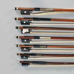 Seven Assorted Student Bows