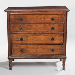 Early Chest over Two Drawers