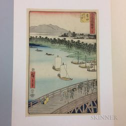 Utagawa Hiroshige (1797-1858), Yoshida
