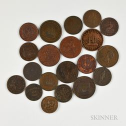 Small Group of Canadian Provincial Tokens
