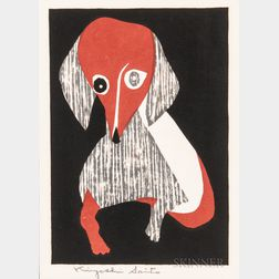 Kiyoshi Saito (1907-1992), Woodblock Print