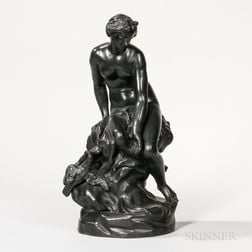 Wedgwood Black Basalt Figure of Venus