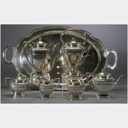 Whiting Manufacturing Co. Sterling Seven Piece Tea and Coffee Service