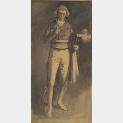 Lucius Walcott Hitchcock (American, 1868-1942)    Henry Irving as Robespierre