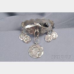 Sterling Silver Bracelet, George W. Shiebler & Co.