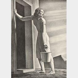 Rockwell Kent (American, 1882-1971)      Good-Bye Day
