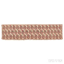 Kashmir Shawl Shoulder Mantle End Panel