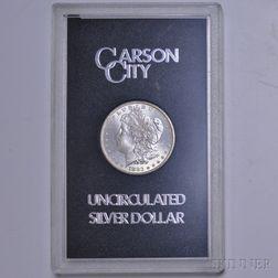 1883-CC/Carson City Morgan Dollar.
