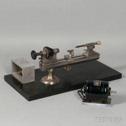 F.W. Derbyshire Watchmaker's Lathe