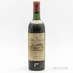 Chateau Bouscaut 1966, 1 bottle