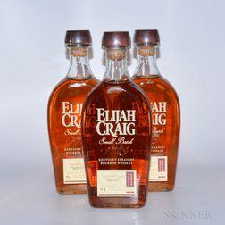 Elijah Craig 12 Years Old, 4 750ml bottles