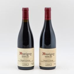 George Roumier Musigny 1999, 2 bottles