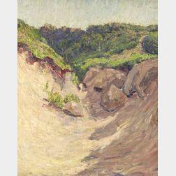 George Loftus Noyes (American, 1864-1954)    Truro Dunes