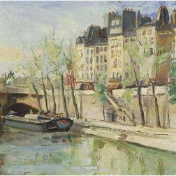 Pierre Sicard (French, 19th/20th Century)     Ile de la Cite