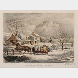 Nathaniel Currier, publisher (American, 1813-1888)      American Farm Scenes No. 4.