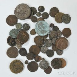 Group of Assorted Ancient and European Coins