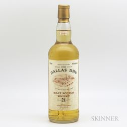 Dallas Dhu 21 Years Old 1980, 1 750ml bottle