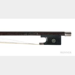 English Silver-mounted Violoncello Bow