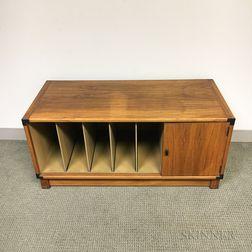 Drexel Mid-Century Modern Teak Record Cabinet