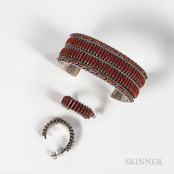 Calvin Eustace Bracelet and Earrings