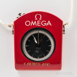 "Omega Split Second Chronograph, or Rattrapante ""Olympic"" Timing Watch"